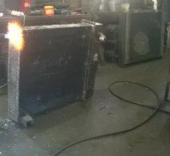 Ремонт радиатора — пропайка основания