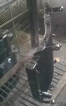 Ремонт радиатора мотоцикла