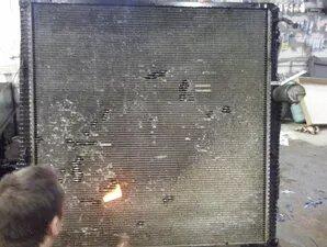 Ремонт радиатора Скания